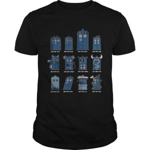 Doctor two Doctor blue doctor grew Doctor loo Doctor mew shirts