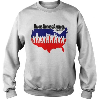 Hands across america may 25 1986 Sweater