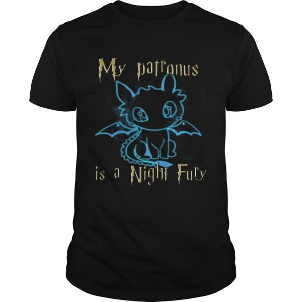 My Patronus is a Night Fury Awesome Gift Shirt