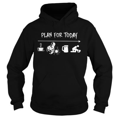 Plan for today are coffee welder beer and sex Hoodie