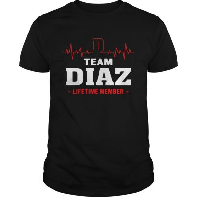 Team Diaz lifetime member Guys Shirt