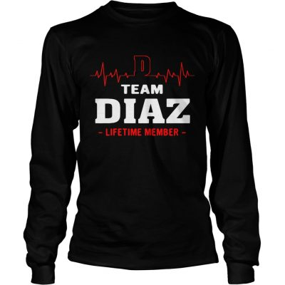 Team Diaz lifetime member Longsleeve Shirt