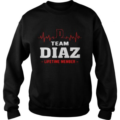 Team Diaz lifetime member Sweater