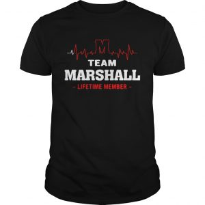Team Marshall lifetime member shirt