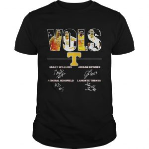 Tennessee Volunteers VOLS Grant Williams Jordan Bowden Admiral Schofield Lamonte Turner shirt