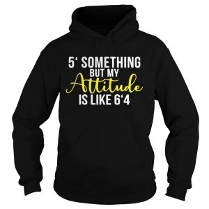 5 something but my attitude is like 64 hoodie
