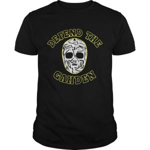 Defend The Gahden Goalie Mask shirt