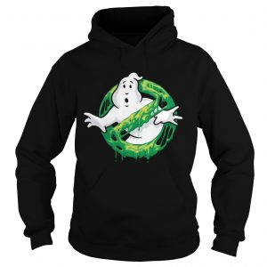Ghostbusters Classic Slim Ghost Logo Graphic Funny Gift hoodie