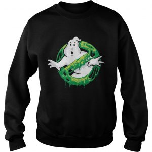 Ghostbusters Classic Slim Ghost Logo Graphic Funny Gift sweatshirt
