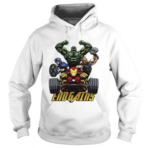 Gym Hulk Captain America Thor Iron Man Endgains hoodie