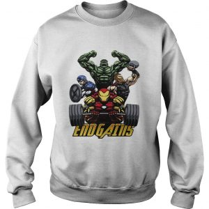 Gym Hulk Captain America Thor Iron Man Endgains sweatshirt