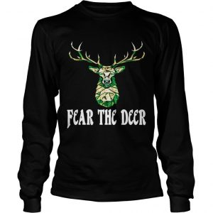 Hunting Fear The Deer longsleeve tee