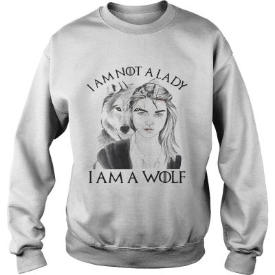 Im not a lady Im a Wolf Sweater