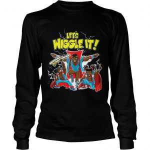 New Day Lets Wiggle It Authentic longsleeve tee