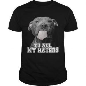 Pitbull to all my haters shirt