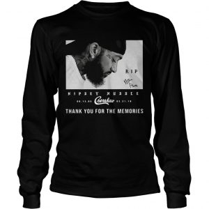 RIP Nipsey Hussle Crenshaw 08 15 85 03 31 19 thank you for the memories longsleeve tee