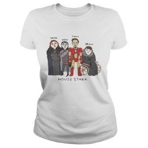The Gang House Stark Sansa Arya Tony Bran ladies tee