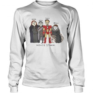 The Gang House Stark Sansa Arya Tony Bran longsleeve tee