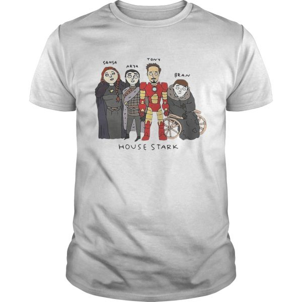The Gang House Stark Sansa Arya Tony Bran shirt
