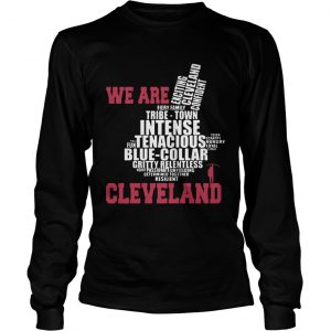 Trevor Bauer We Are Cleveland longsleeve tee