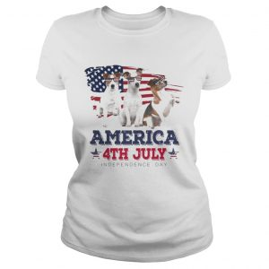 Cool Parson Russell America 4th July Independence Day T Classic Ladies