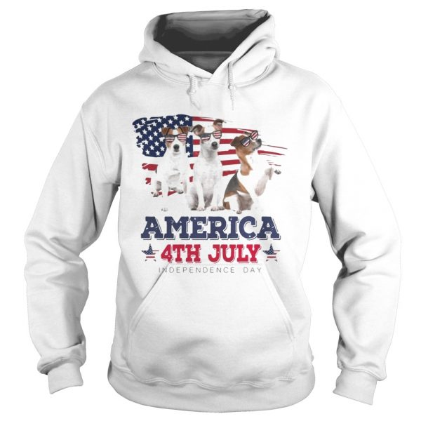 Cool Parson Russell America 4th July Independence Day T Hoodie