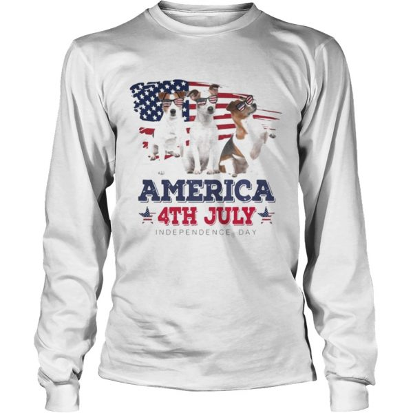 Cool Parson Russell America 4th July Independence Day T LongSleeve