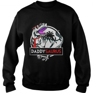 Daddy Saurus Glasses sweatshirt