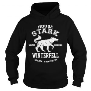 Game Of Thrones House Stark Winter Is Coming Winterfell The North Remembers hoodie