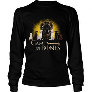 Game Of Thrones King Dogs Game Of Bones longsleeve tee