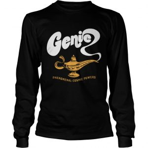 Genie lamp phenomenal cosmic power longsleeve tee