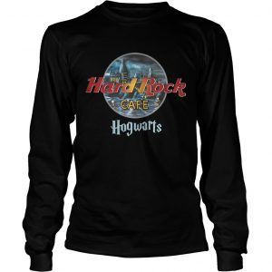 Harry Potter Hard Rock cafe Hogwarts longsleeve tee