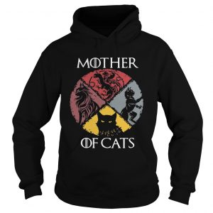 Mother of cats vintage Game of Thrones hoodie