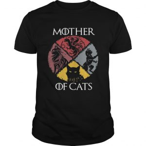 Mother of cats vintage Game of Thrones unisex
