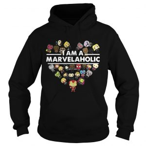 Official I am a Marvelaholic hoodie