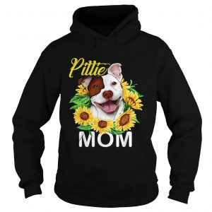 Pillie staffordshire Mom sunflowers hoodie