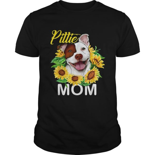 Pillie staffordshire Mom sunflowers shirt