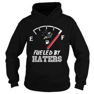 Shark fueled by haters hoodie