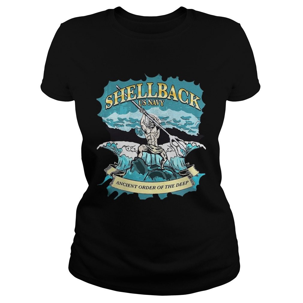 Shellback us navy ancient order of the deep Classic Ladies
