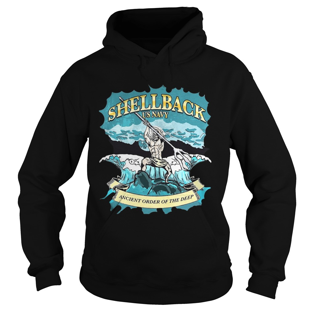 Shellback us navy ancient order of the deep Hoodie