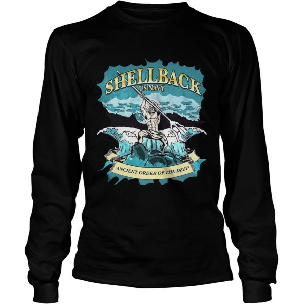 Shellback us navy ancient order of the deep  LongSleeve