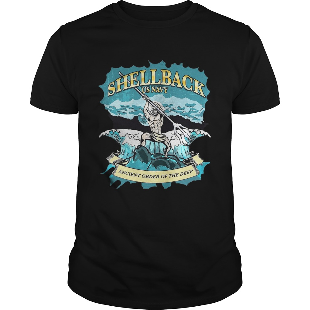 Shellback us navy ancient order of the deep Unisex
