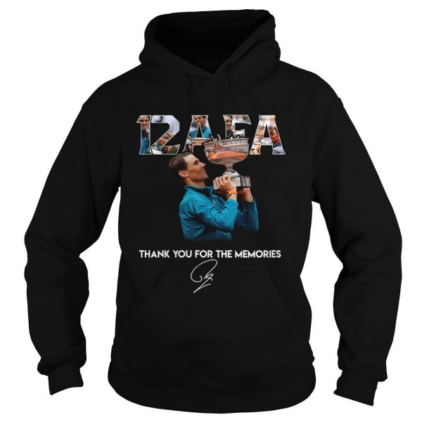 12 AFA Roland Garros thank you for the memories  Hoodie