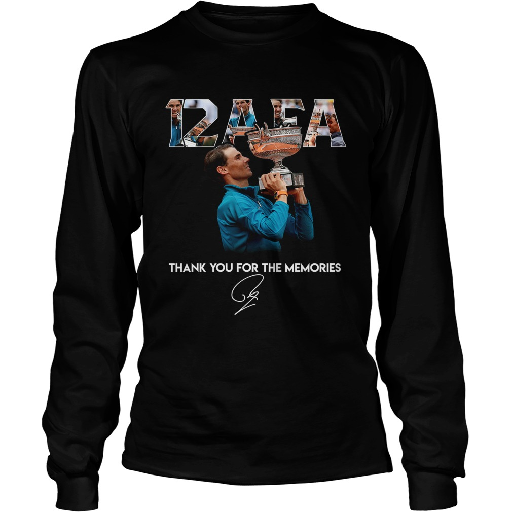 12 AFA Roland Garros thank you for the memories  LongSleeve