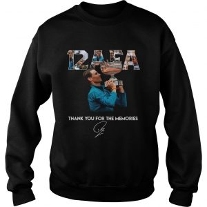 12 AFA Roland Garros thank you for the memories  Sweatshirt