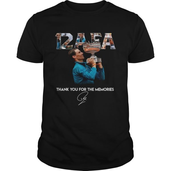12 AFA Roland Garros thank you for the memories  Unisex