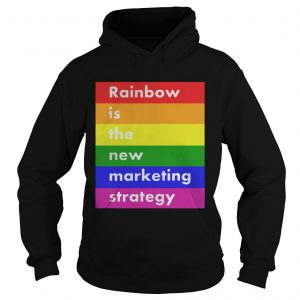 LGBT rainbow is the new marketing strategy  Hoodie