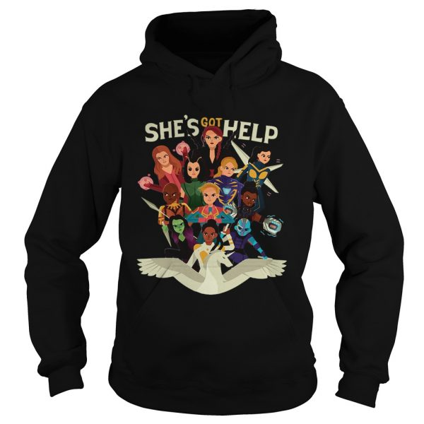 Shes got help Women of Marvel  Hoodie