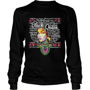 Top Dashiki Black History Educated Melanin  LongSleeve