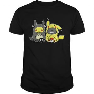 Totoro and Pikachu are best friends  Unisex